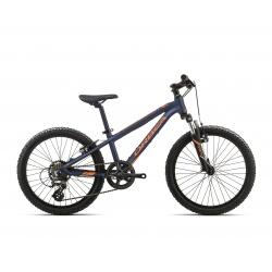 Orbea MX20 XC Kids mountain bike 2019 - black and orange - side view
