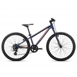 Orbea MX24 Dirt Kids mountain bike 2019 - black and orange - side view