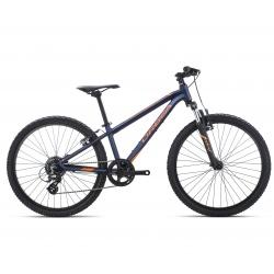 Orbea MX24 XC Kids mountain bike 2019 - black and orange - side view