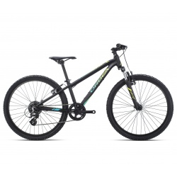 Orbea MX24 XC Kids mountain bike 2019 - black and pistachio - side view