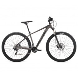 Orbea MX 20 mountain bike 2019 - silver and black - 29 inch version - side view