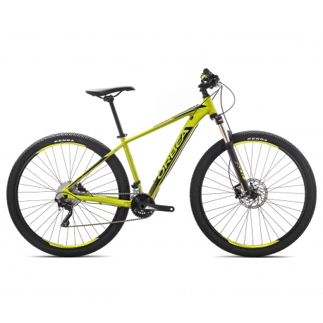 Orbea MX 20 mountain bike 2019 - pistachio and black - 29 inch version - side view