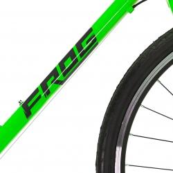 Frog 73 childs bike - neon green - new Frog logo