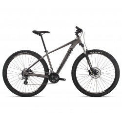Orbea MX 50 mountain bike 2019 - silver and black - side view