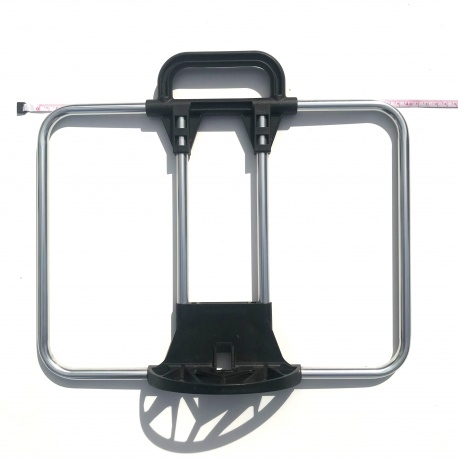Brompton standard front carrier frame only - for C Bag and T Bag, tape showing width (400mm)