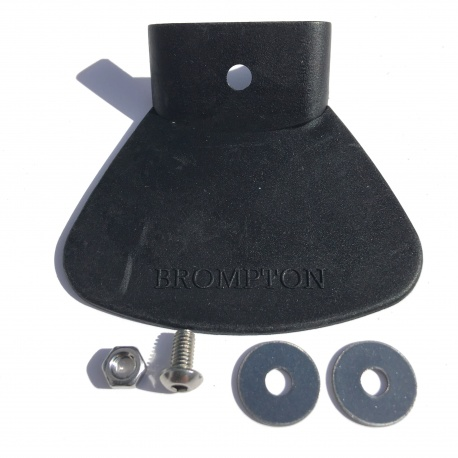 Brompton rear mudguard replacement flap with fixing kit