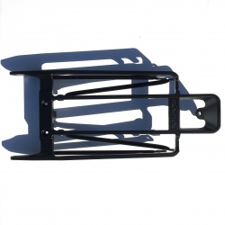 Brompton rear carrier / rack platform (with rear stays) - Black - top view