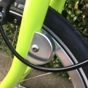 Brompton cable protector fender disc for bikes without mudguards