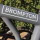 Brompton decal - White - on 2018 CHPT edition Brompton