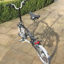 Brompton H6L folding bike - Black - 2019 model