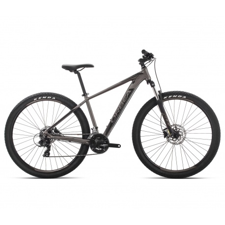 Orbea MX 60 mountain bike 2019 - silver and black - side view