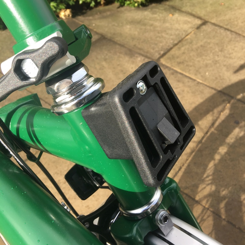 Brompton Luggage Block Front Carrier Block Assembly