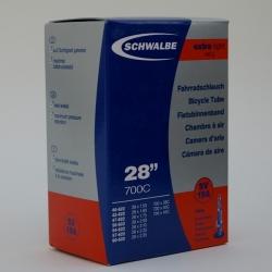 Lightweight Inner tube 28 x 1 1/2 inch from Schwalbe - presta valve