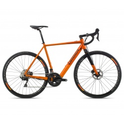 Orbea Gain D30 electric road bike - 2019 model - orange and black (gloss)