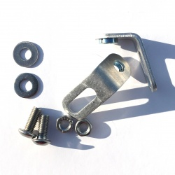 Brackets for Brompton rear battery lamp - rack version