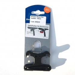 Bracket mount for saddles - 50mm - in Busch and Muller packaging