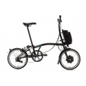 Brompton Electric M6L folding bike - Black