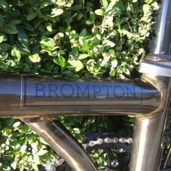 Brompton H6L folding bike - Raw Lacquer - 2019 model