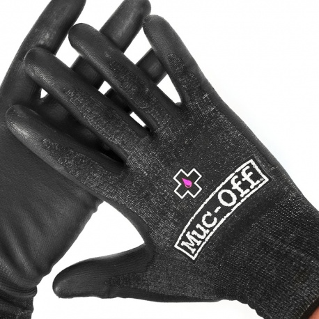 Muc-Off Mechanics gloves - showing back and front of glove