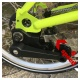 Brompton gear upgrade kit - 3 speed hub to 6 speed hub/derailleur showing 6 speed derailleur