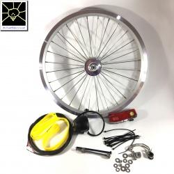 Brompton SP SV-8 hub dynamo kit - including front Brompton wheel