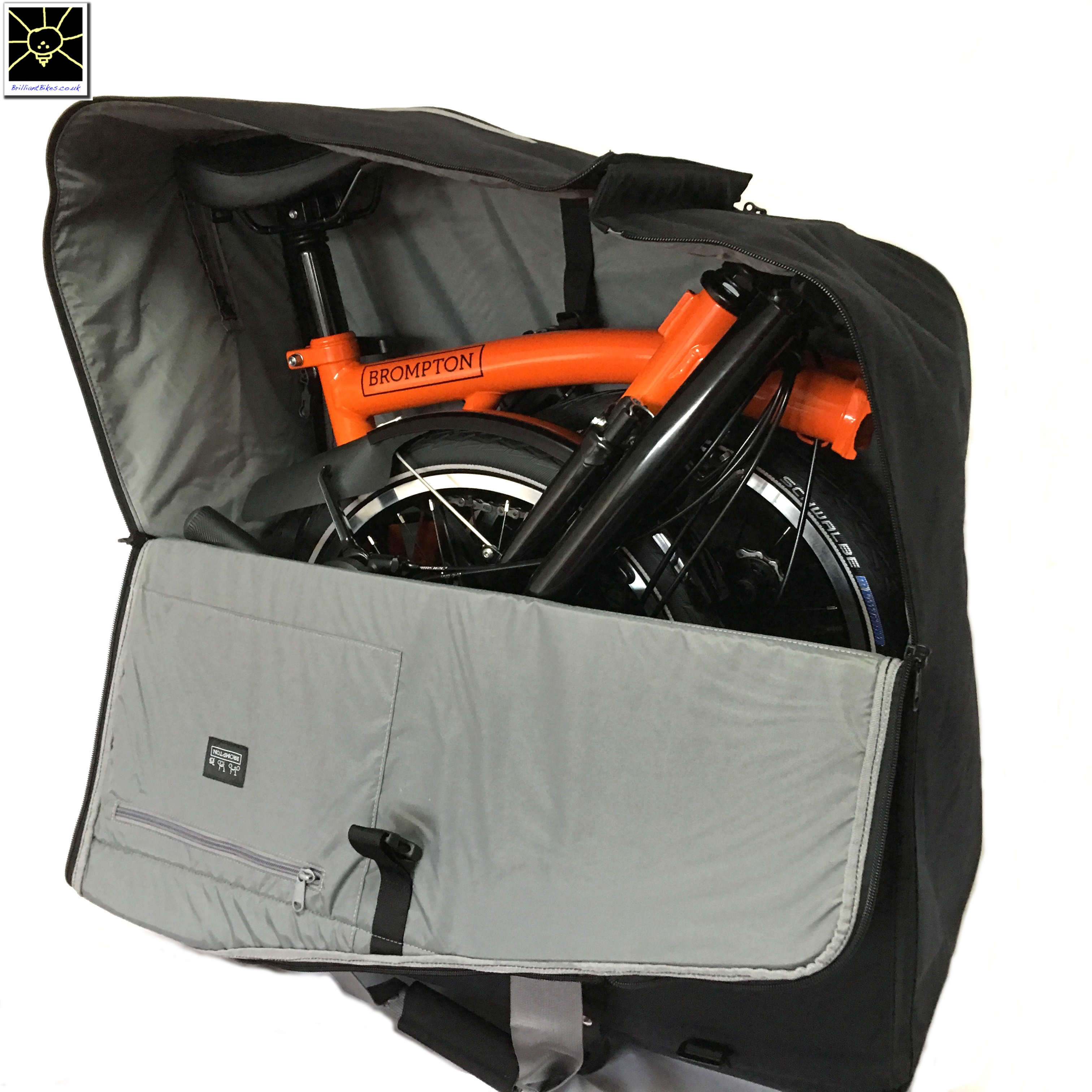 6ef9cdb3b Brompton travel bag - the NEW bag for carrying your Brompton