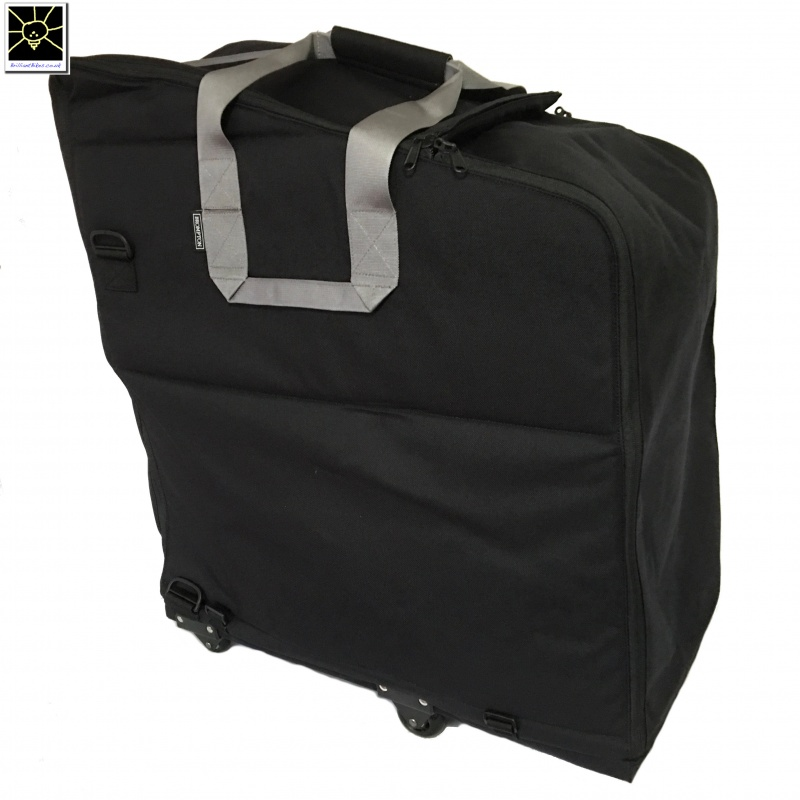 25d857e8c ... Brompton travel bag - the NEW bag for carrying your Brompton - ready  for transportation ...