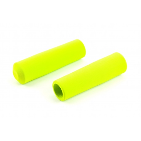 Brompton LIME GREEN handlebar grips for M-type and H-type (pair)