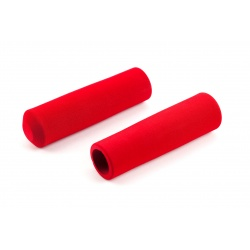 Brompton RED handlebar grips for M-type and H-type (pair)