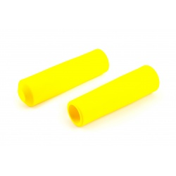 Brompton YELLOW handlebar grips for M-type and H-type (pair)