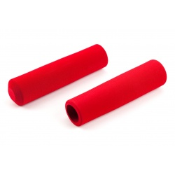 Brompton RED handlebar grips for S-type