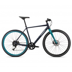Orbea Carpe 20 urban bike - 2019 - indigo and turquoise