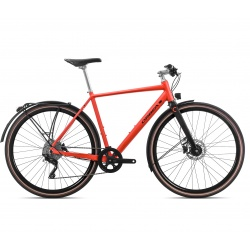 Orbea Carpe 10 urban bike - 2019 - red and black