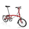 Brompton S2L Red folding bike - 2019 model