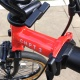 Brompton 2019 CHPT3 showing CHPT3 logo and hollow hinge clamp levers
