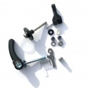 Brompton rear frame clip retro fit kit - WITH quick release clamp
