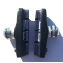 Brompton brake pads and holders - by SwissStop