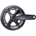 Shimano FC-R8000 Ultegra 11-speed double chainset, 46 / 36T 165 mm