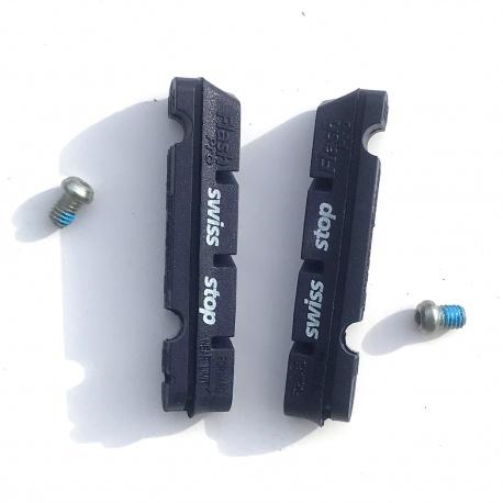 SwissStop Flash Pro BXP road brake pads 2 pairs (4 pads) - image showing a pair