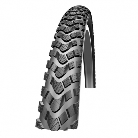 Marathon Extreme 26x2.25 Folding Tyre w/ Double Defense Reflective S/Wall by Schwalbe