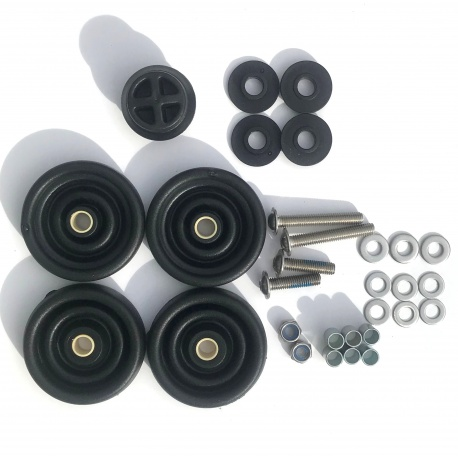 Brompton Rollers - set of 4 - for Brompton WITH rack
