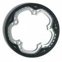 Brompton chain ring / guard assembly for 44T spider chainwheel