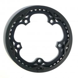 "Brompton BLACK chain ring / guard assembly for 44T ""spider"" chainwheel"