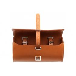 Brooks Challenge Large Tool Bag - Honey Brown - open