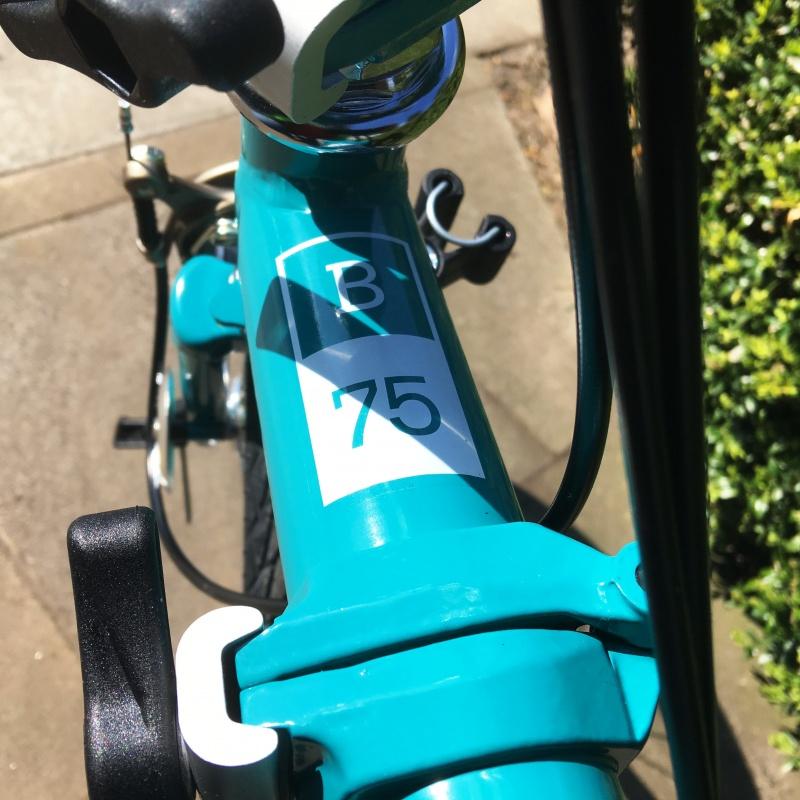 Brompton bike B75 3speed limited edition 2019 folding bike