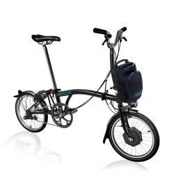Brompton Electric M2L folding bike - Black