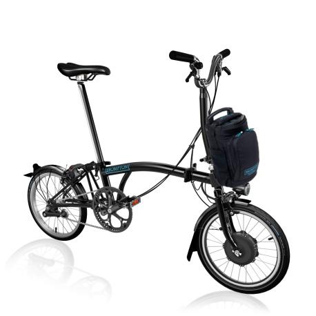 Brompton Electric M2L folding bike - Black