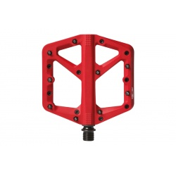 crankbrothers stamp 1 flat MTB pedal - red - large