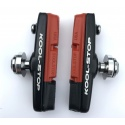 Dura2 dual compound brake pads and holders by Kool-Stop