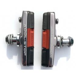 Dura2 TripleLite brake pads and holders by Kool-Stop